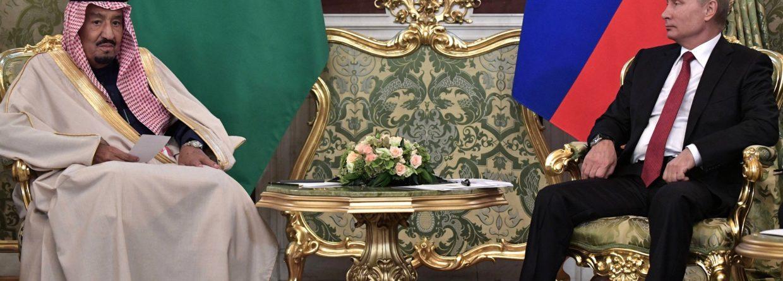 Król Salman i prezydent Putin na Kremlu. Fot.: Kremlin.ru