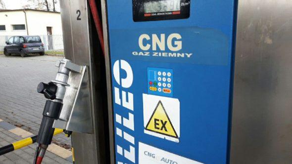 cng gaz gazomobilność transport moto