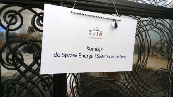 Komisja do Spraw Energii i Skarbu Państwa Sejm