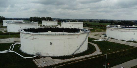 Zbiorniki PERN. fot. BiznesAlert.pl