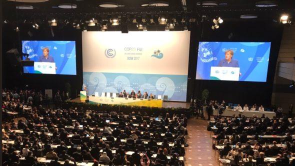Szczyt Klimatyczny ONZ w Bonn. Fot. COP24, Twitter.