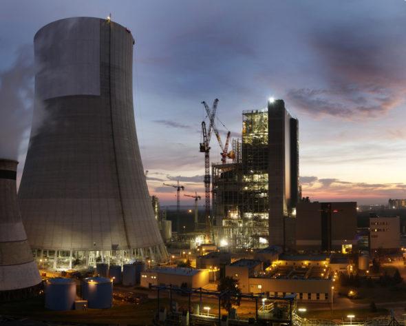 2Zdjęcie z placu budowy bloku węglowego 910MW w Jaworznie. Fot. Nowe Jaworzno Grupa Tauron