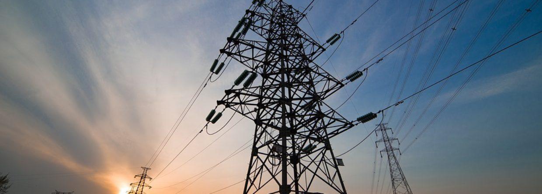 Linia wysokiego napięcia energetyka energia
