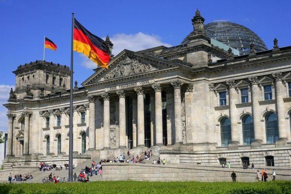 reichstag Niemcy Berlin