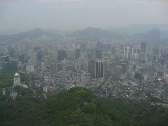 Smog Seul. Wikipedia Commons