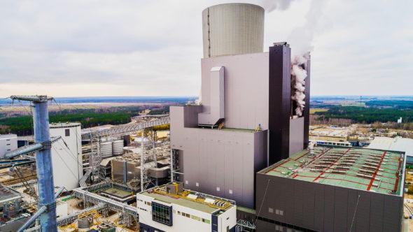 Elektrownia Kozienice. Fot. Enea energetyka blok