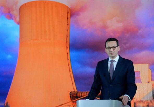Morawiecki energetyka Kozienice Enea