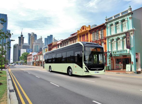 autobus elektryczny elektromobilność transport komunikacja miejska