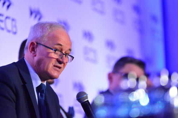 Minister Energii Krzysztof Tchórzewski podczas konferencji POWERPOL 2018. Fot. Ministerstwo Energii