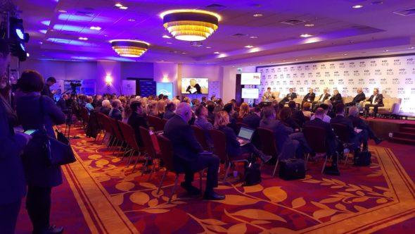 Konferencja POWERPOL Fot. Europejskie Centrum Biznesu, źródło Twitter