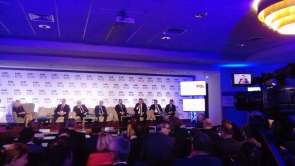Maciej Woźniak, wiceprezes PGNiG na konferencji POWERPOL. Fot. BiznesAlert.pl