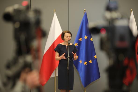 Minister Jadwiga Emilewicz. Fot. Ministerstwo Przedsiębiorczości i Technologii