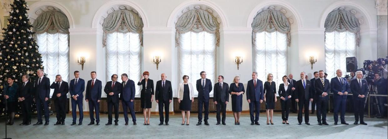 Nowy rząd Mateusza Morawieckiego. Fot.: KPRM