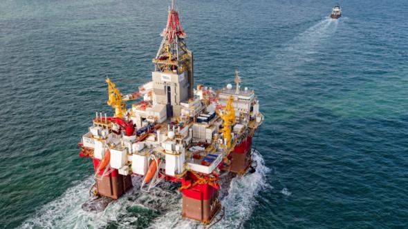Platforma naftowa Korpfjell Norwegia