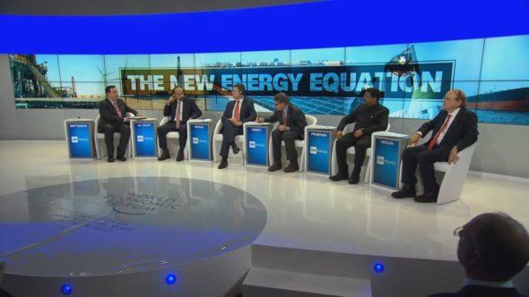 USA, Rosja, Arabia Saudyjska na WEF 2018