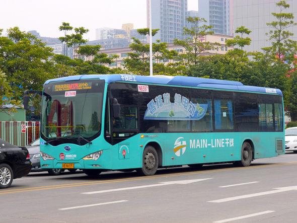autobus elektryczny elektromobilność komunikacja miejska