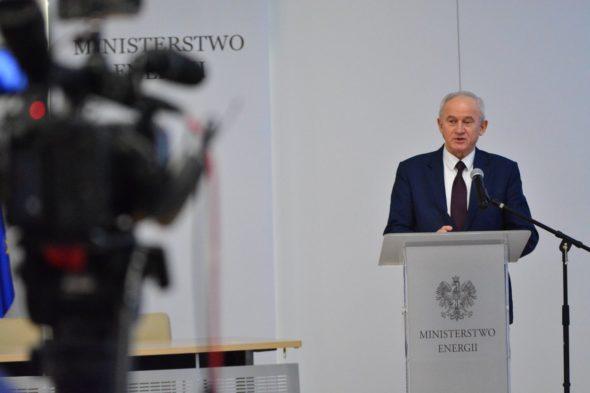 Minister Energii,Krzysztof Tchórzewski, Fot. Ministerstwo Energii , Źródło: Twitter