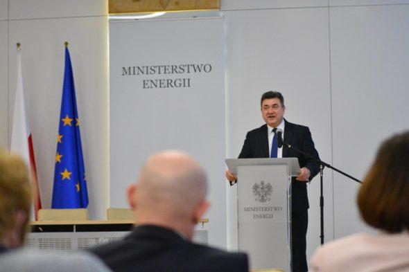 Wiceminister Energii, Grzegorz Tobiszowski, Fot. Ministerstwo Energii , Źródło: Twitter