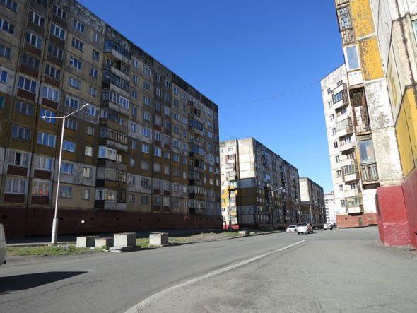 Norylsk. Źródło Wikipedia Commons