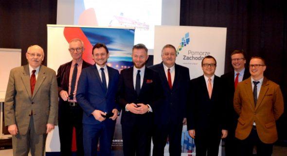 Spotkanie ws. Korytarza Bałtyk-Adriatyk w Szczecinie. Źródło: WZP