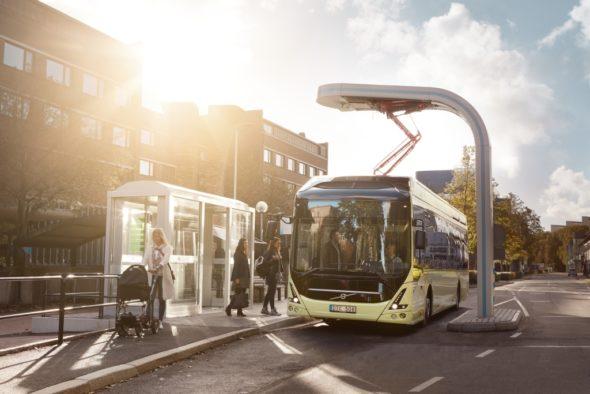 elektromobilność Volvo 7900 Electric autobus elektryczny elektromobilność