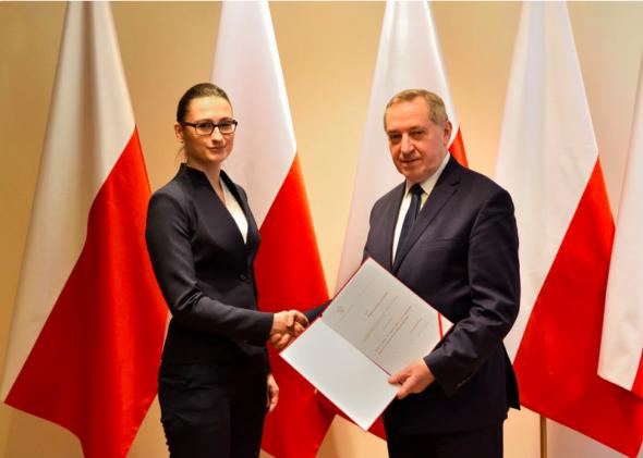 Wiceminister środowiska Małgorzata Golińska. Fot. Ministerstwo Środowiska