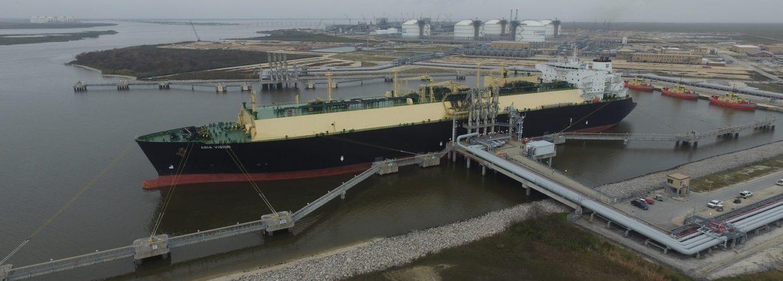 Załadunek w Sabine Pass LNG. Fot. Cheniere Energy