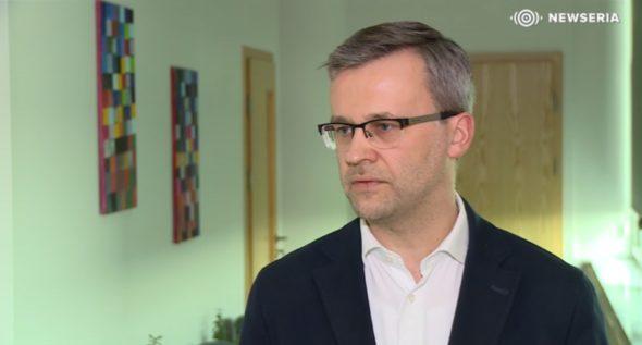 """Robert Janiak, ekspert kampanii """"Nie trać energii"""" z firmy H+H Polska. Fot Newseria.pl"""