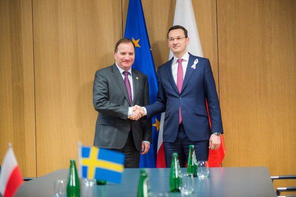 Spotkanie Premierów Polski i  Szwecji. Fot. KPRM. Źródło: KPRM, Twitter
