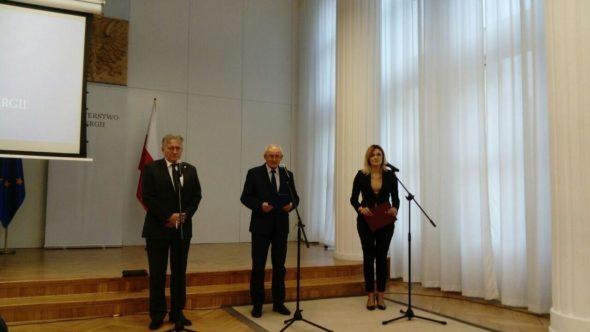 Konferencja Ministra Energii i przedstawicieli PGNiG