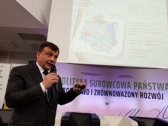Główny Geolog Kraju prof. Mariusz Orion Jędrysek. Fot. BiznesAlert.pl