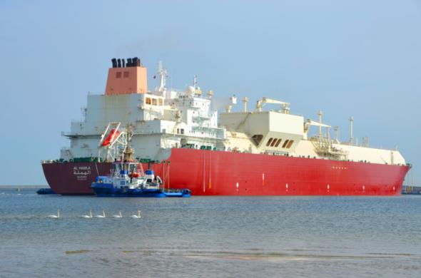 lng terminal gaz system