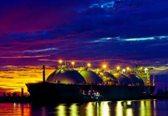 Metanowiec transportujący LNG. Źródło: LNG Hrvatska