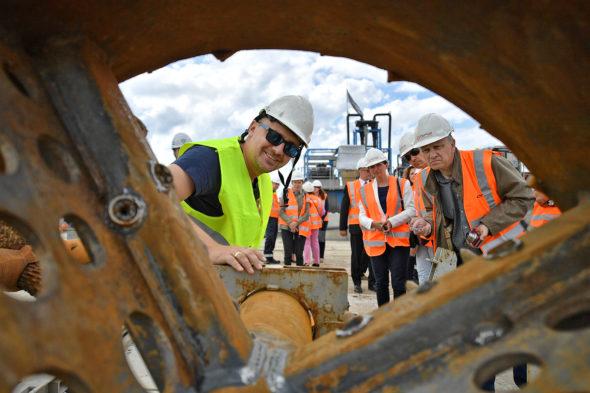 Gazociąg budowa gaz system