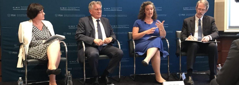 Sandra Oudkirk na konferencji w Waszyngtonie (druga od prawej). Fot. PISM