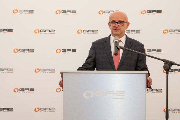 Wiceprezes Gaz- System, Artur Zawartko Fot.: Gaz-System