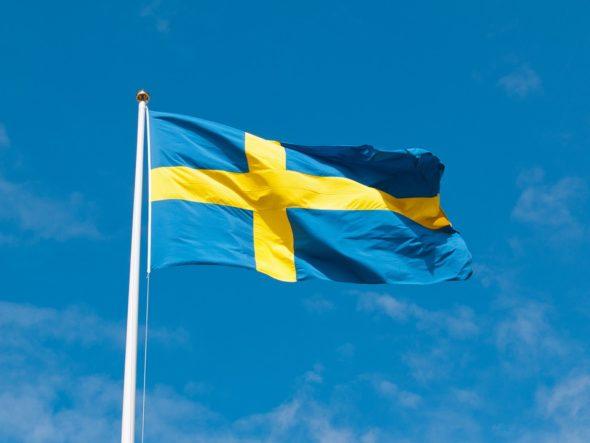 Flaga Szwecji. Źródło: Pixabay