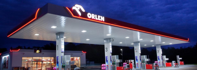 Stacja PKN Orlen. Źródło: Flickr, Minale Tattersfield, Album PKN Orlen
