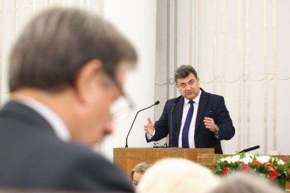 Wiceminister Energii Grzegorz Tobiszowski. Fot. Senat RP, Twitter