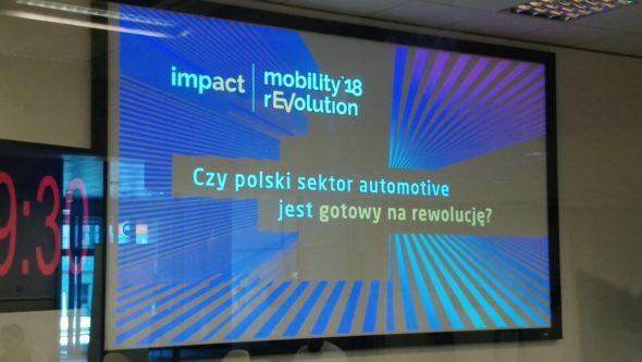 Roundtable o rewolucji w transporcie, samochodach przyszłości i o  szansach, jakie niosą dla polskiego sektora automotive. Źródło: ImpactCEE