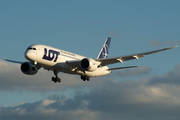 PLL LOT samolot lotnictwo
