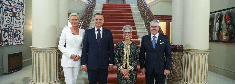 Prezydent Andrzej Duda z małżonką w Australii. Fot. Prezydent.pl