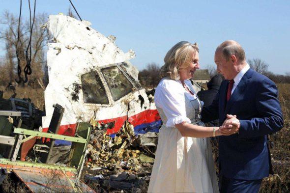 Putin danse macabre