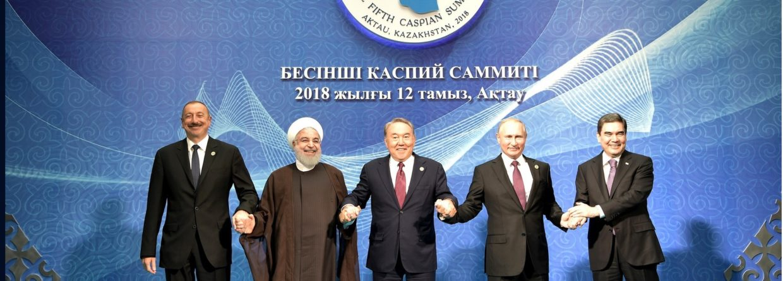 Szczyt Kaspijski z udziałem Władimira Putina i pozostałych przywódców regionu. Fot. Kremlin. ru