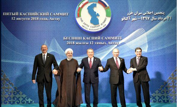 Władimir Putin Morze Kaspijskie