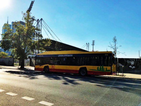 elektromobilnosc Warszawa autobus Ev Elektryczny autobus