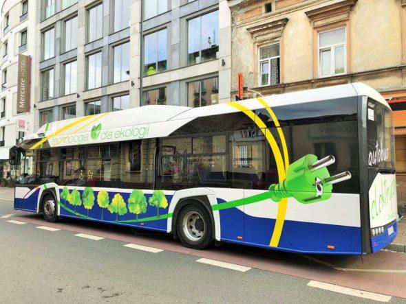 autobus elektryczny ebus kraków elektromobilnosc