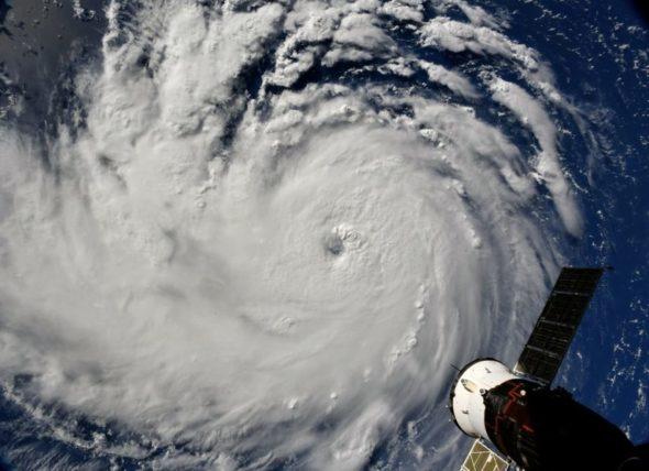 huragan burza florence