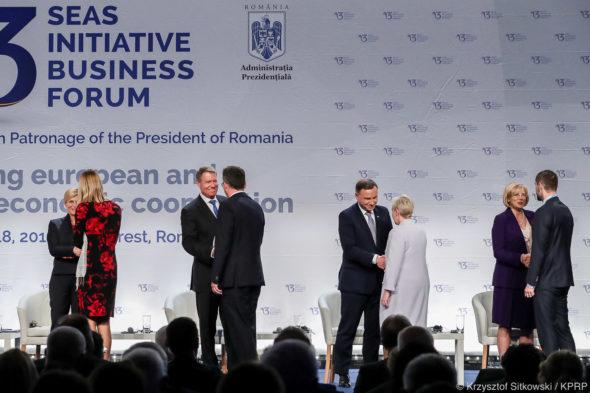 Andrzej Duda szczyt Trójmorza Bukareszt 17 września