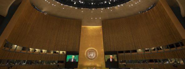 Donald Trump w ONZ